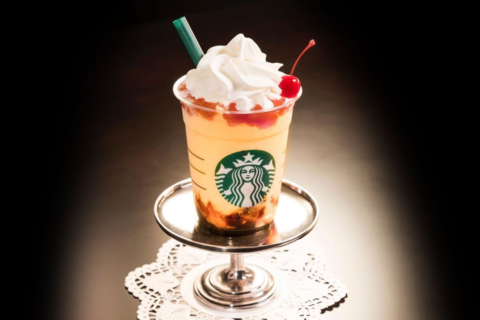 "Starbucks Japan Premieres ""Pudding à la Mode"" Frappuccino for Limited Time"