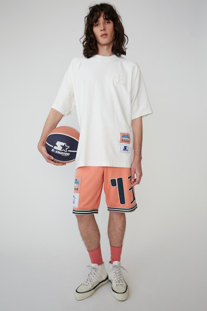 Starter Black Label x Acne Studios SS19 Lookbook collection spring summer 2019 collaboration drop release date info buy may 30 2019