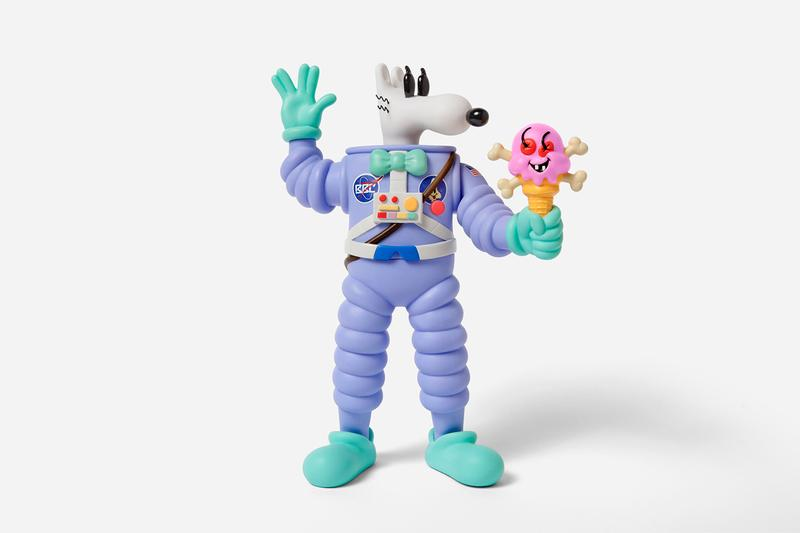 steven harrington icecream cosmic cone vinyl figure sculpture edition artworks collectibles