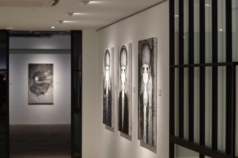 stickymonger parallel universe exhibition recap artworks paintings murals