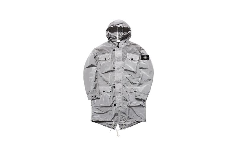stone island prototype research series 04 collection manual flocking nylon metal grid