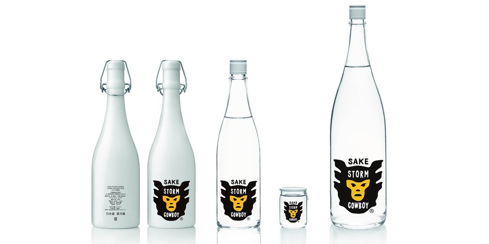"NIGO and Pharrell Create ""Storm Cowboy"" Sake"