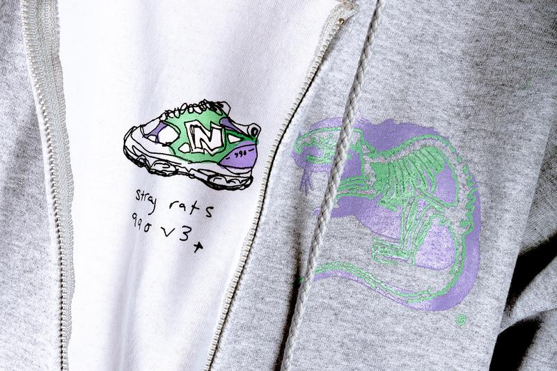 "Stray Rats x New Balance 990v3 Second Collaboration sneaker drop release date info colorway joker inspiration may 2019 miami ""Alternate 2"" 18"
