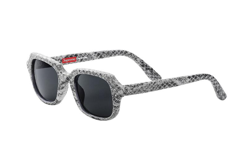 Supreme 2019 Spring Sunglasses Collection eyewear
