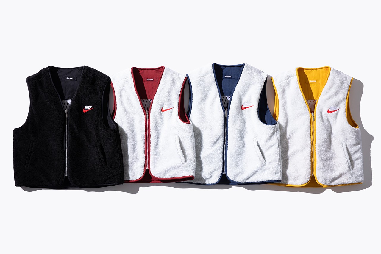 Supreme X Nike Best Sneakers Apparel Collaborations