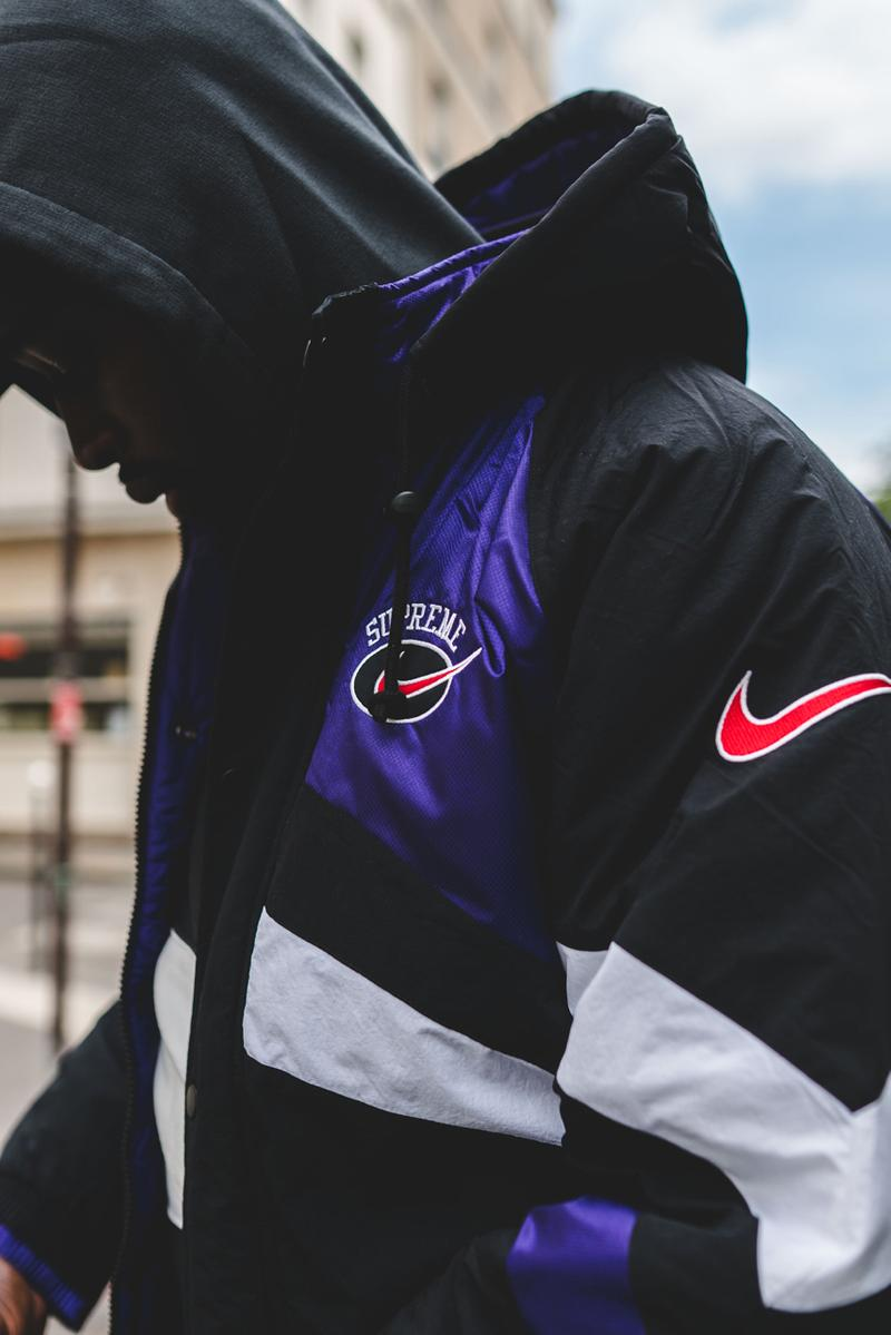 Supreme x Nike SS19 Collaboration Streetstyle paris france on body clothing spring summer 2019