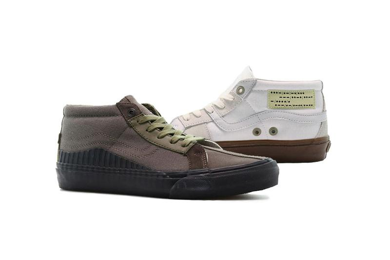 Taka Hayashi x Vans Style 138 Mid LX Release colorways th collaboration collection sneakers date drop info buy may 1 119,95 VN0A45K7VTQ marshmallow military green VN0A45K7VTP