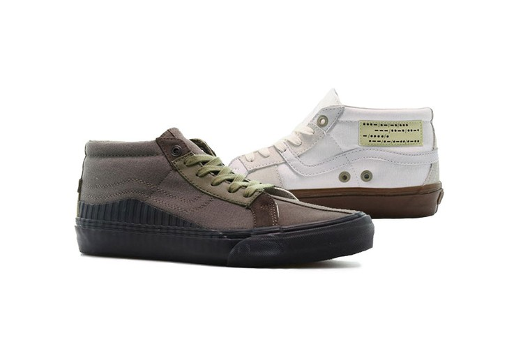 12b99038af20 Taka Hayashi Remixes Vans  Style 138 Mid LX With Military Influences.  Footwear