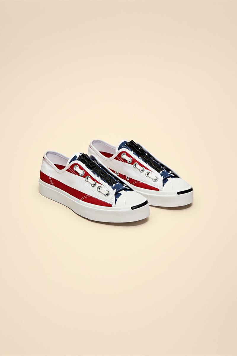 TAKAHIROMIYASHITATheSoloist. Gives the Converse Jack Purcell a Star-Spangled Update