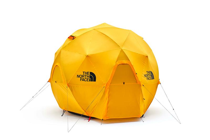 THE NORTH FACE Geodome 4 Tent Release Silver Yellow