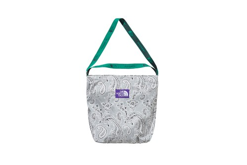 THE NORTH FACE PURPLE LABEL Reworks Bags With Monochromatic Paisley Print