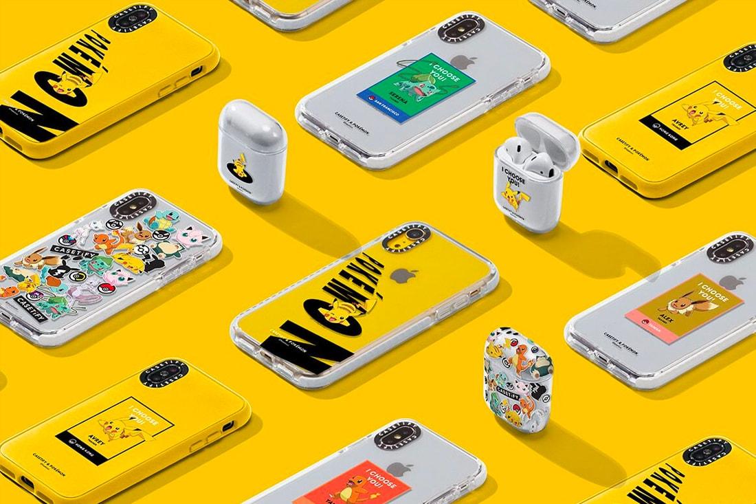promo code bcefa d3da4 The Pokémon Company x CASETiFY Collection Release | HYPEBEAST