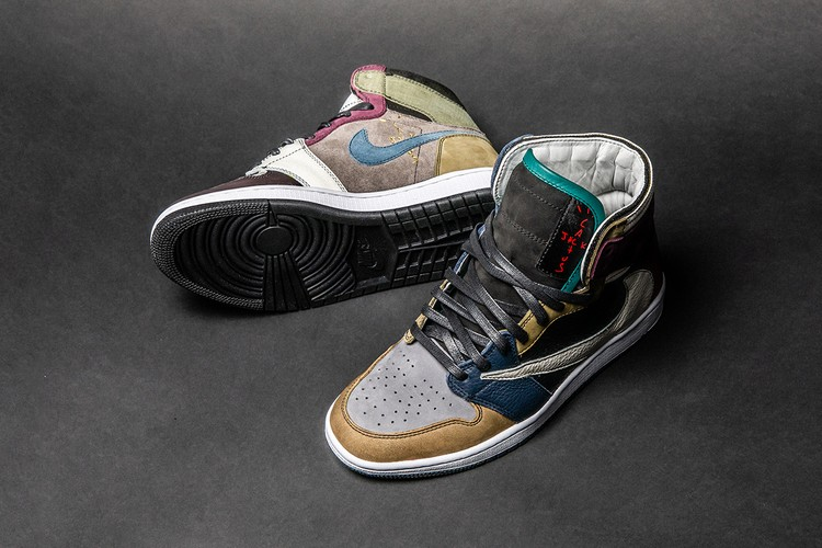 the latest 4b310 b53a7 The Shoe Surgeon s Latest Custom Is an Ode to Travis Scott s