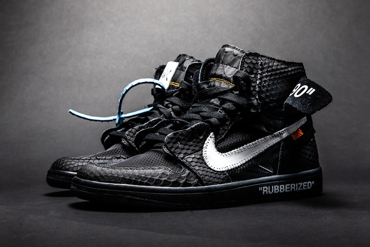 the best attitude 67320 1ad69 The Shoe Surgeon Douses the Air Jordan 1 in