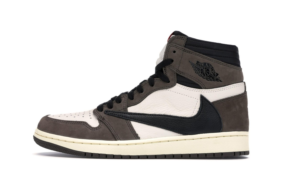 best website fc2f2 af5d7 Travis Scott s Long-Awaited Air Jordan 1 is Available Before the Drop