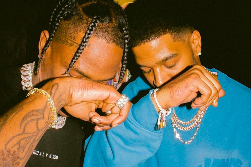 Travis Scott Kid Cudi Matching Rager Tattoos Photo Rayscorruptedmind Kylie Jenner