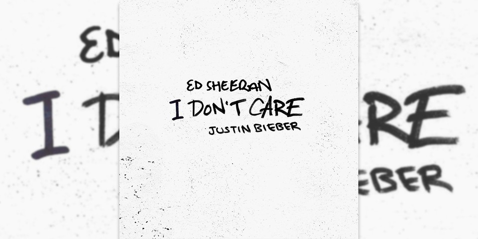 "Ed Sheeran & Justin Bieber ""I Don't Care"" Stream"