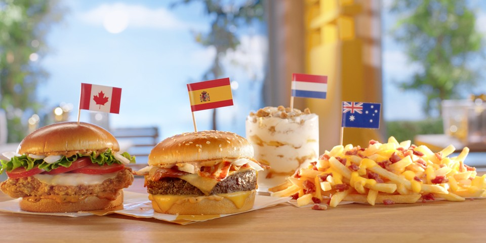 McDonald's Announces International Menu Favorites Are Coming Stateside