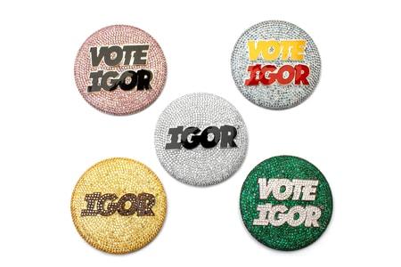 EXCLUSIVE: Ben Baller Crafts Custom 'IGOR' Pins for Tyler, The Creator