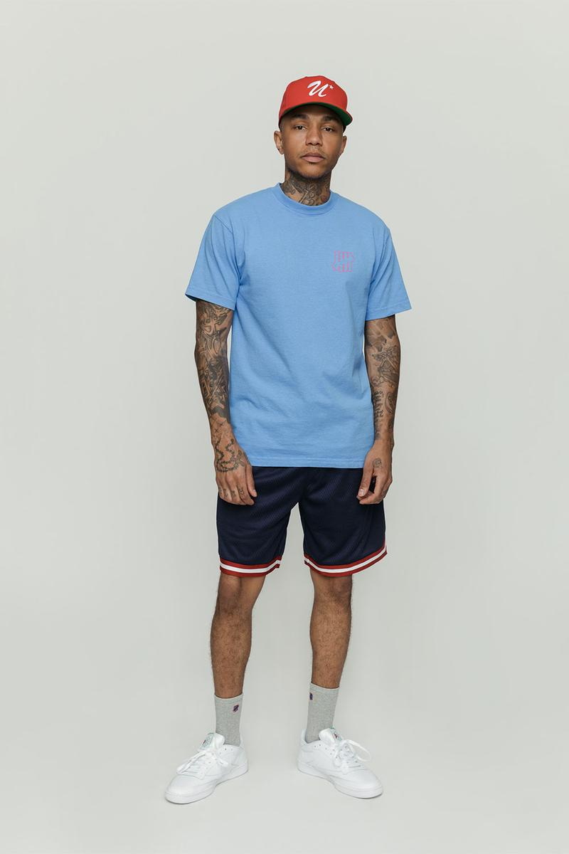 Undefeated 2019 Summer Essentials Lookbook clothing jackets shirts Long Sleeves tees hats caps LA Los Angeles
