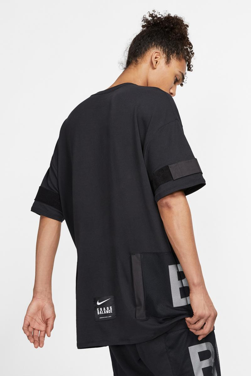 UNDERCOVER x Nike Clothing Capsule, Daybreak Shoes Release sneakers collaboration colorways black jacket shirt pants tee chaos balance jun takahashi spring summer 2019 june 7 web store buy