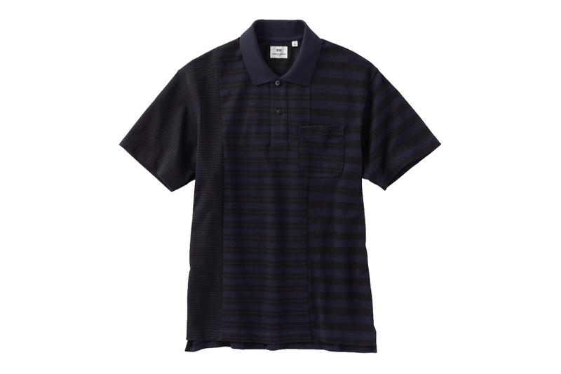 Engineered Garments UNIQLO Polo Shirt Capsule Release Stripe Polka Dots Sleeve Info Date life wear