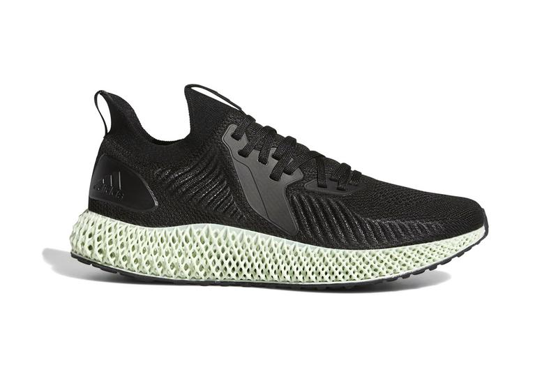 aa7ca40a5c2 Updated adidas AlphaEDGE 4D First Look Futurecraft White Black 3D printed