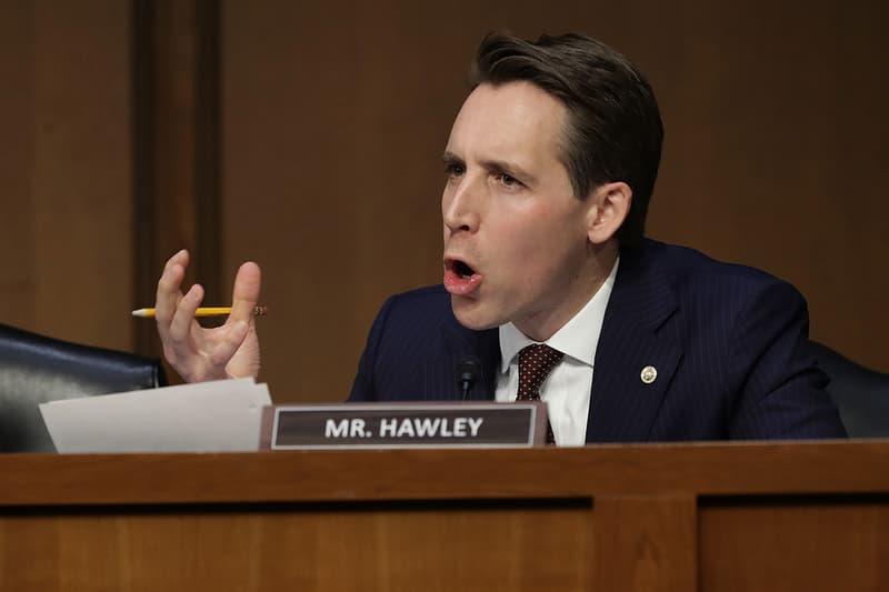 senator josh hawley missouri ban loot box microtransactions pay to win gaming video games pc xbox ps4 law senate US america united states