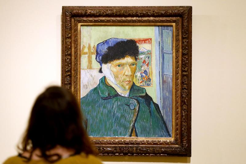 vincent Van Gogh Letter Art Critic Displayed Amsterdam Exhibition Display