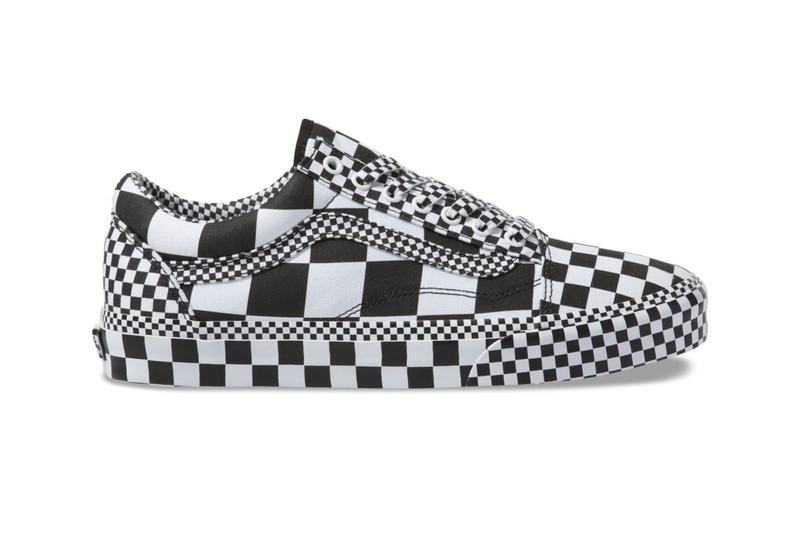 "Vans ""All Over Checkerboard"" Pack Release Info BLACK/TRUE WHITE old skool sk8-hi release date price drop shoes skate lifestyle company brand california"