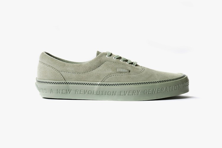 f460eb527b7 Vans and Commonwealth Debut Collaboration Clad in Premium Suede and  Minutiae Details