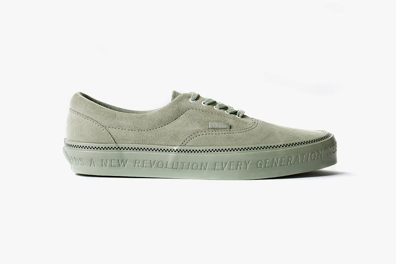 Vans and Commonwealth Debut Collaboration Clad in Premium Suede and Minutiae Details