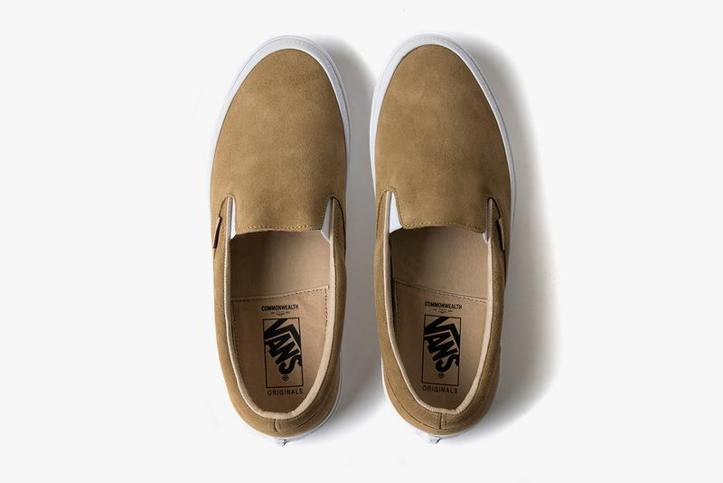 Vans Vault x Commonwealth Sneakers