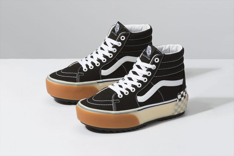 "Vans Steps Up With ""Stacked"" Platform Sk8-Hi and Era Models"