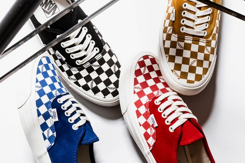 "Vans Vault Drops OG Authentic LX ""Checkerboard"" Pack"