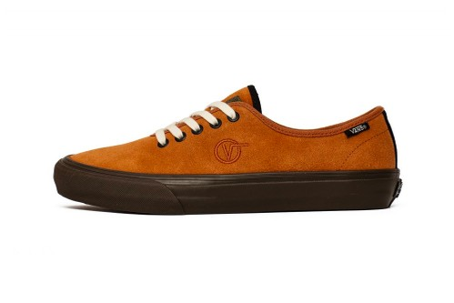 """Taka Hayashi Revamps Vans's Classic UA Authentic One in Tonal """"Leather Brown"""" & """"Spicy Orange"""""""