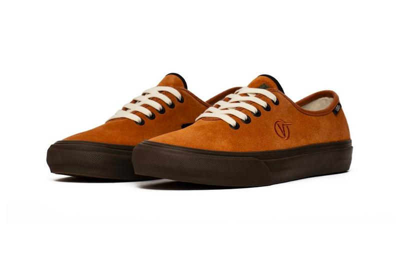 Vans Vault UA TH Authentic One Leather Brown Spicy Orange Release Info taka hayashi