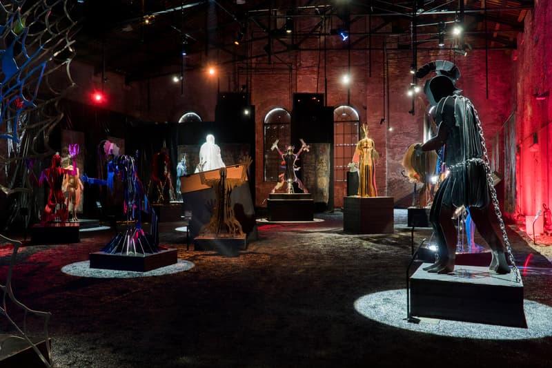 vasily klyukin in dante veritas exhibition venice biennale artworks sculptures ca pesaro international gallery of modern art