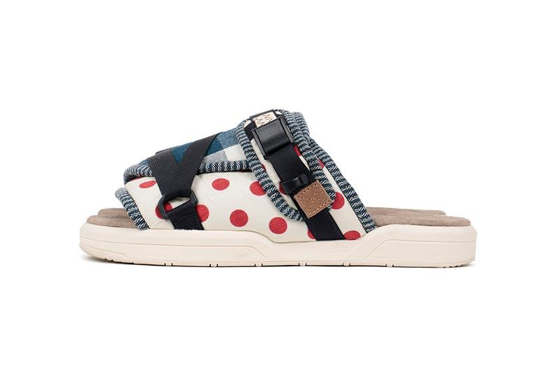 visvim CHRISTO COLLAGE Release hiroki nakamura tokyo FIL Japan sandals