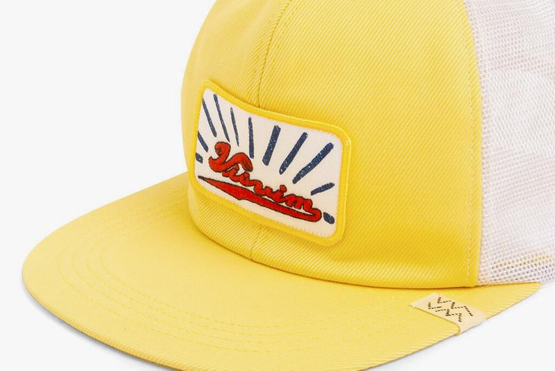 visvim Goodyear Cap Release trucker hat mesh cap hats accessories hiroki nakumura