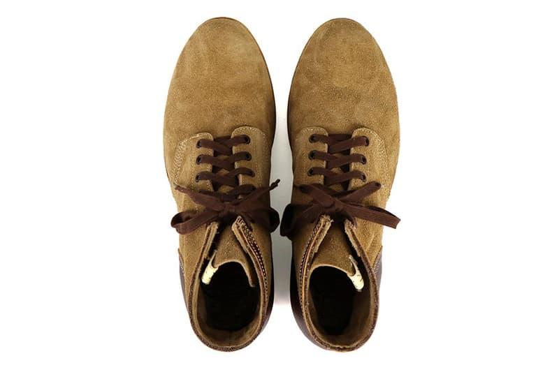 visvim Lafayette Boot Folk Veg Suede Release hiroki nakamura japan burton designer FBT shoes boots handmade goodyear welt leather