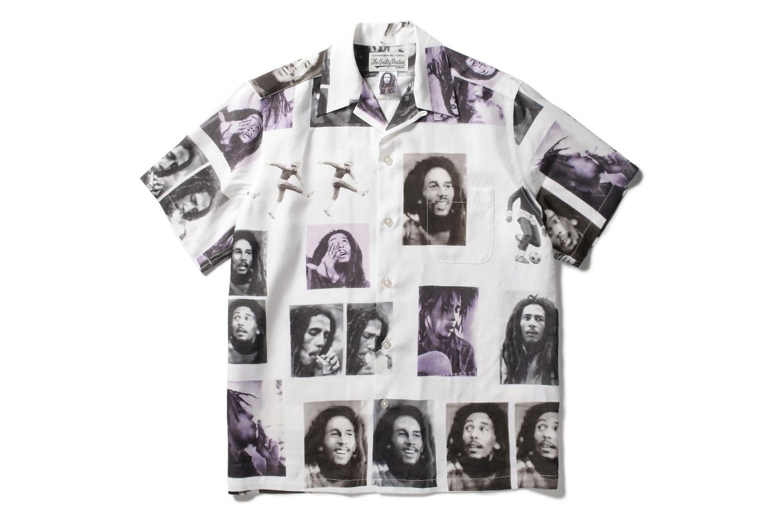 WACKO MARIA x WOLF'S HEAD 2019 Capsule Bob Marley 2019 Capsule Paradise Tokyo HANKYU MEN'S TOKYO kimono noragi wailers