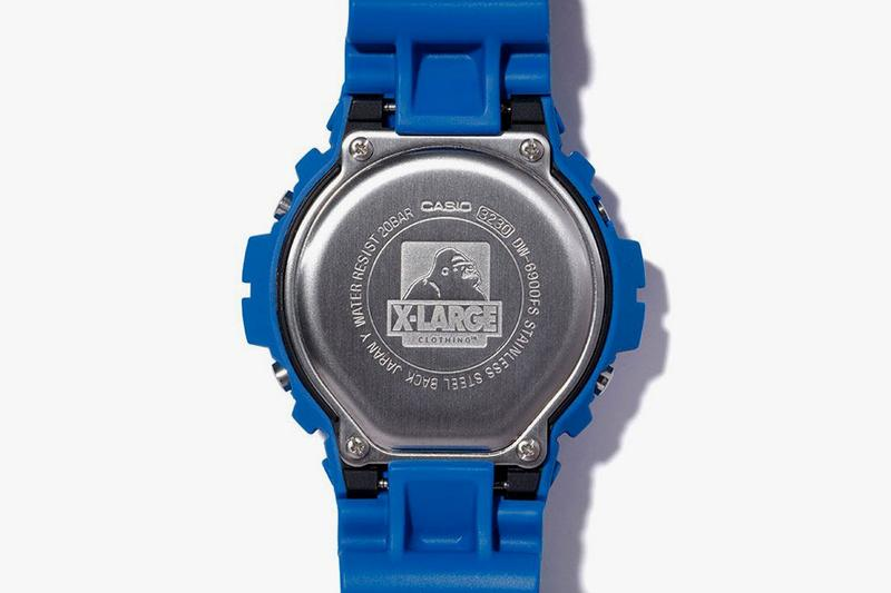 X-LARGE x Casio G-SHOCK DW-6900 Collaboration Watches release date info may 3 2019 exclusive colorway japan