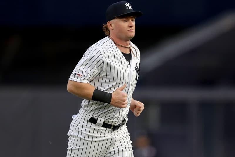 new york Yankees Player Clint Frazier Custom Travis Scott AJ1 Cleats air jordan 1 13 nigel sylvester 11 baseball mlb shoes sneakers