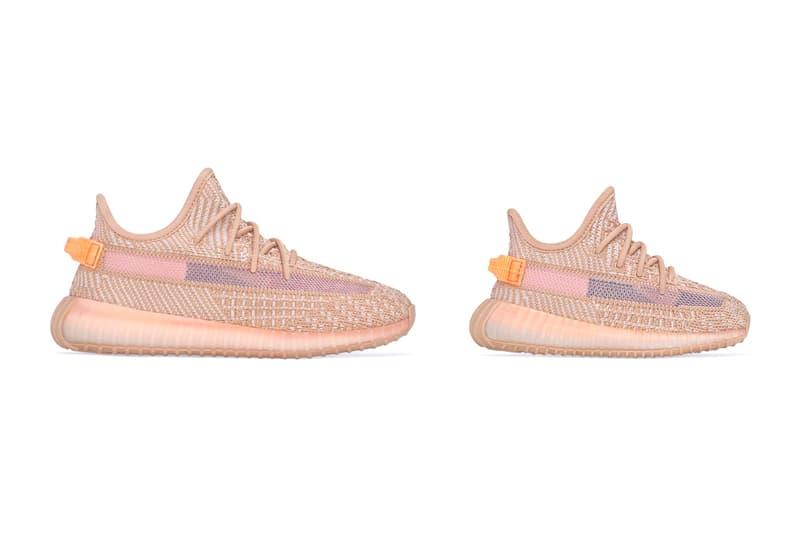 ff66f5267 adidas YEEZY BOOST 350 V2 Clay Restock Info children kids infant sizes  small kanye west originals