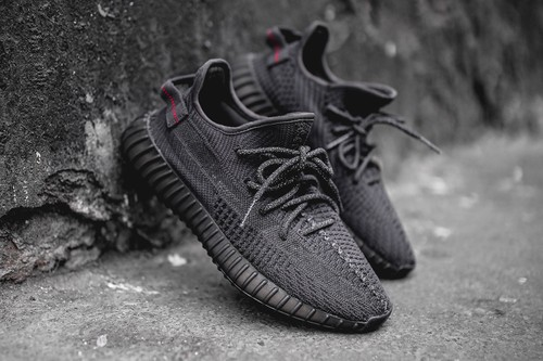 """Detailed Shots of the YEEZY BOOST 350 V2 """"Triple Black"""""""