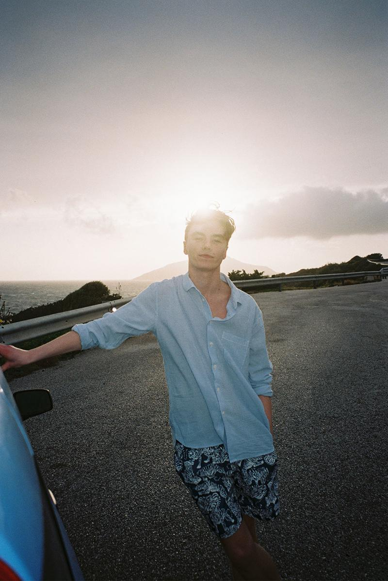 "YMC ""High Summer"" Mid Season Capsule Collection Lookbook Mens Womens Drop shirts relaxed trousers sweatshirts blousons knee-length shorts psychedelia De La Soul 1960s French underground erotic art publication"