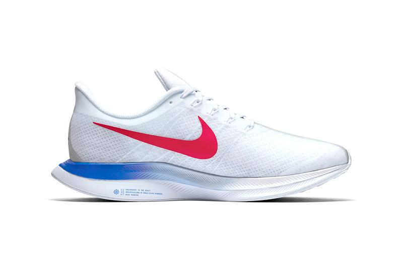 Nike Zoom Pegasus 35 Turbo BRS Release Info White Blue Red Swoosh Racer Lightweight