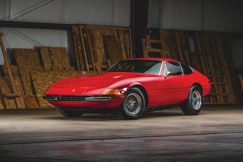 1971 Ferrari 365 GTB/4 Daytona Berlinetta by Scaglietti RM Sothebys Auction Auburn Fall 2019 Chassis Number 14769 Vintage Supercar Miami Vice