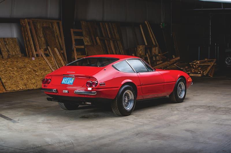 1971 Ferrari 365 GTB/4 Daytona Berlinetta by Scaglietti RM Sothebys Auction Auburn Fall 2019 Chassis Number 14769 Vintage Supercar Miami Vice